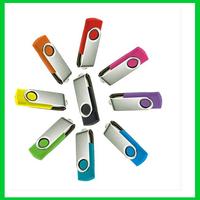 4gb Wholesale free shipping 200pcs/lot swivel usb u disk pen drive rectangle usb 2.0 usb flash pen drive/thumb/card