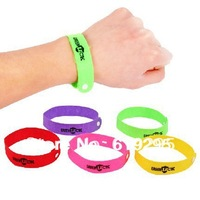 50pcs/lot Summer mosquito bracelet repellent bangle belt Non-woven fabric camping Killer Wristband as seen on tv Free shipping