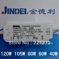 120W electronic transformer ac220v ac12v gold 80w60w40w lindley