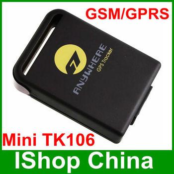Wireless gps tracker TK106-----Updated GPS TRACKER TK102, Protecte child, wowan, elder,pets,dogs