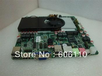 INTEL ATOM D2700  motherboard ITX Onboard GT520 support WIFI SSD 2VGA + HDMI