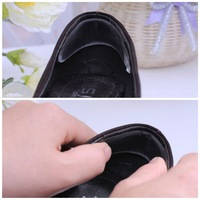 2 Pair Foot Care Silicone Gel Heel Cushion Shoe Pads insole New Hot Selling
