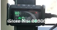 Universal  Car HUD Head Up Display System OBD2 Fuel Consumption Over speed Warning  free shipping WT-F101