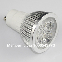 High Power LED Lamp GU10/E27 AC 85-265V 4W/5W Warm White/White LED Bulb Light Downlight