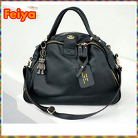 Women Leather Bag Cowhide handbag Candy Colors genuine leather handbags Free Shipping vintage Bags Ladies PH14