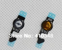 100pcs/lot 100% Original New Home Button Flex Cable for iPhone 5 5G free shipping