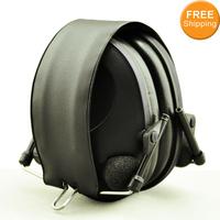 Anti-noise Impact Sport hunting Electronic Earmuff Shooting Ear Protection Tactical Hearing Protector Earmuffs free shipping