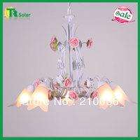 Free Shiping E14*5 Lighting Modern Wrought Iron Lighting Chandelier Lamp living room, dinner room,  bedroom study room hanging