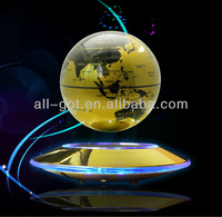 UFO magnetic floating globe with Anion Generator and LED