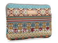 Fashion Bohemia laptop sleeve case computer bag notebook smart cover for ipad MacBook Free Shipping