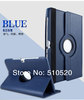 "DHL Free shipping360 Rotating PU Leather Cover Case 10.1"" for Samsung Galaxy Tab 2 10.1 P5100 ,20pcs"