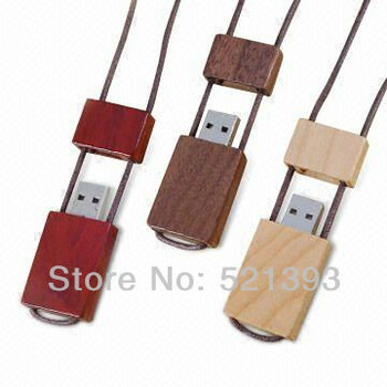 Free Shipping 2G/4G/8G/16G Guaranteed Full Capacity Cheap Wooden Bamboo Rectangle USB Flash Drive Memory Wholesale 10 pcs/lot