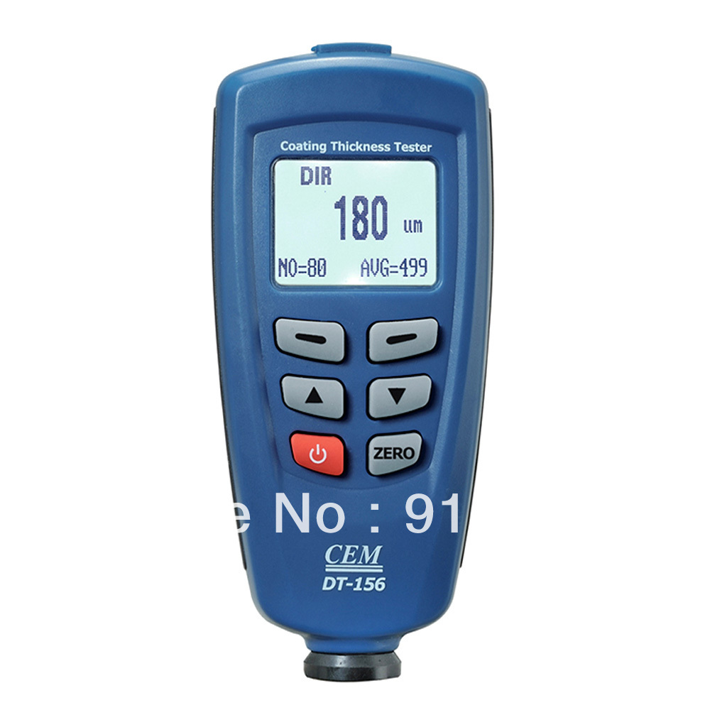 EMS Free shipping F/NF CEM DT-156 Paint Coating Thickness Gauge Tester(China (Mainland))