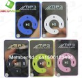 NEW ARRIVAL,free shipping Mini Clip Mp3 Player,sport Mirror Mp3, TF card support(China (Mainland))