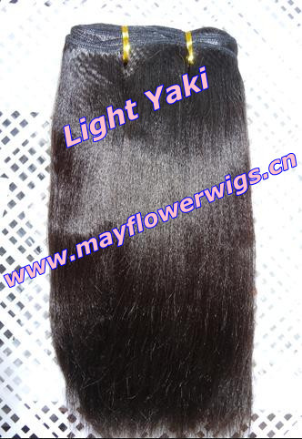 2013no tangle remy indian human hair weft fast delivery(China (Mainland))
