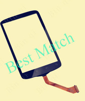 Free shipping Factory price Touch screen digitizer glass lens Replacement For HTC Desire S S510e G12 Black With tracking number