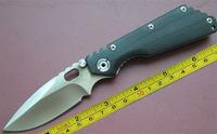 "FREE shipping New 8"" CNC Black G-10 Handle Strider SMF SNG Folding Pocket Knife FD02"