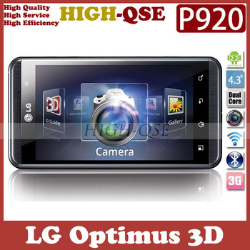 Original  Unlocked LG Optimus 3D P920 Cell Phone, 3G, WiFi, GPS, 5MP Camera, 4.3''Touchscreen, Fast Free Shipping!