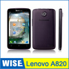 Free shipping Original Lenovo A820 MTK6589 Quad Core Android 4.1 Mobile Phone 4.5'' IPS Screen Camera Wifi Bluetooth / Blake