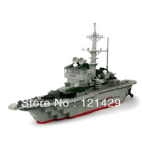 No box Free shipping Frigate Model 84005 228pcs building blocks assembling toys children gift