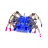 Electric Spider Robot DIY Educational Assembled Toys Kits For Kids Child Gifts -Drop Ship