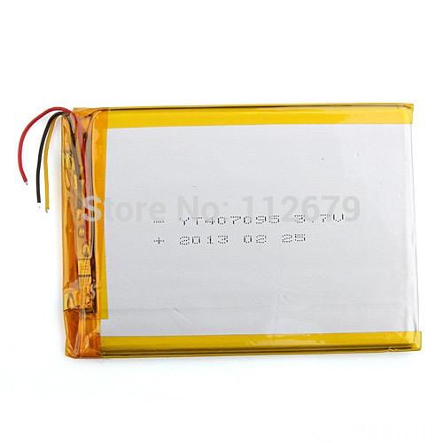 "4*70*93mm 3.7V 3200mah Tablet update Battery For 7"" Tablet Q8, Q88 A13,CUBE U25GT,Freeander PD10 3G,PD20 3G TV MTK6575,MTK6577(China (Mainland))"