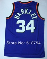 #34 Charles Barkley Jersey,Rev 30 Throwback Basketball Jersey,Best quality,Authentic Jersey,Size S--XXXL,Accept Mix Order