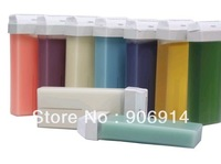 free shiping 100g strip depilatory hot wax roll on cartridge,10pcs/lot