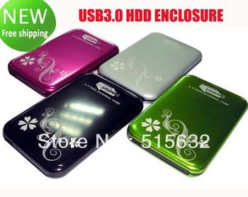 USB 3.0 2.5 inch SATA External HDD Hard Drive Disk Case Enclosure Box