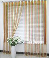Free shipping-290cmX280cm 4 Colored string curtain, line curtain, fringe panel, room divider, wedding drapery