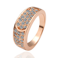 18KRG PR047 Wholesale Designer 18K Rose gold dimond the Ring o anel casamento bague women aneis para as mulheres anillos