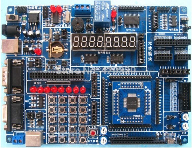 Электроника PQ MSP430F149 MSP430 usb msp430 development board microchip msp430f149 program breadboard