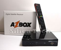 Azbox bravissimo twin tuner satellite receiver linux OS support nagra3 decoder for South america(Hong Kong)