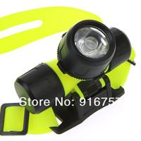 Ultra Bright Professional CREE Q5 LED Waterproof 30m Swimming Diving Torch Headlamp Headlight Head Lamp Light Free Shipping