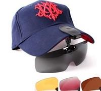 Polarized sunglasses clip cap mirror set 010 008 zengguang mirror fishing glasses single