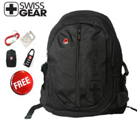 Free shipping SwissGear laptop backpack  notebook computer bag multifunctional schoolbag,wenger 9507