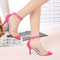 female candals shoes. fashion wedding shoes summer pumps essential nightclub candy color sexy Rome Women's Sandal hh1019