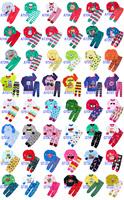 Wholesale baby clothes kids Long sleeves Sleepwear Tops+Pants Boy&Girl PAJAMAS 6 sets /lot
