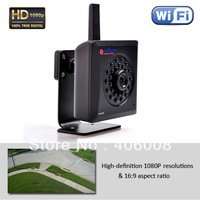 2 megapixel hd 1080p camera ip wifi hd megapixel with free plug and play iPhone app, android app,  PC app + Free shipping