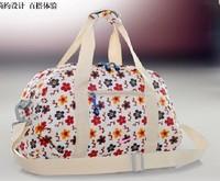 free shipping bag gym women casual vintage fashion luggage travel bags sports canvas flowers  bag female totes
