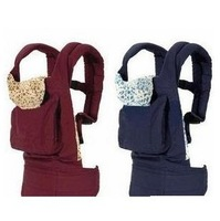 Front & Back Baby Carrier Infant Comfort Backpack Sling Wrap Harness Red and Blue