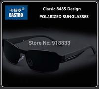 2014 Upgraded Classic 8485 Driving Glasses Brand Design Men Sports Mirror Sunglasses Man Driver Sunglasses Polarized Sun Glasses