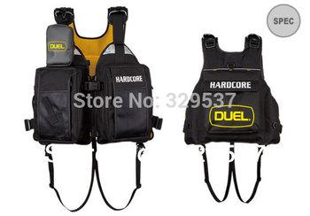 free shipping! customized duel fishing life vest life jacket multi-pocket ,comfortable average size big pocket fishing vest