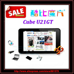 Freee Shipping Original Cube U21GT 7&quot; 1280*800 IPS Screen Android4.1.1 RK3066 1.6Ghz 16G Tablet PC(Hong Kong)