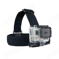 High comfortalbe head  elastic belt /helmet  elastic strap mount  for Gopro Hero3/Hero2 /SJ4000/SJ5000
