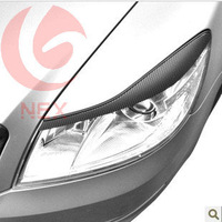 skoda Octavia Personality light carbon fiber modification sticker eyebrow eye line movement