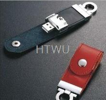 popular usb flash leather