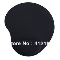 Healthy  Foam Mouse Pad with Gel Wraist Support Black Free shipping