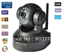 IP Camera Wireless baby monitor Megapixel ip camera H.264 indoor use P/T camera H3-186A