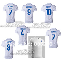 New The FA England  150 years 2013 Home soccer Jersey shirt ,top thailand quality  free shipping  can custom